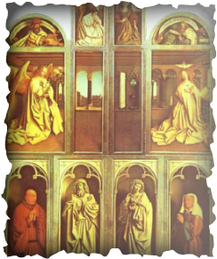 the life and works of jan van eyck Films media group,  below the altar on the inside of the ghent altarpiece is the fountain of the waters of life,  the mystery of jan van eyck tells the.
